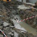 Топлофикация плаща 80 бона на жена, паднала в дупка с вряла вода