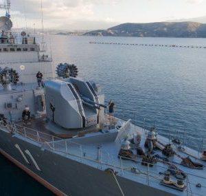 """Фрегата """"Смели"""" продължава във Втората постоянна група кораби на НАТО в Средиземно море"""